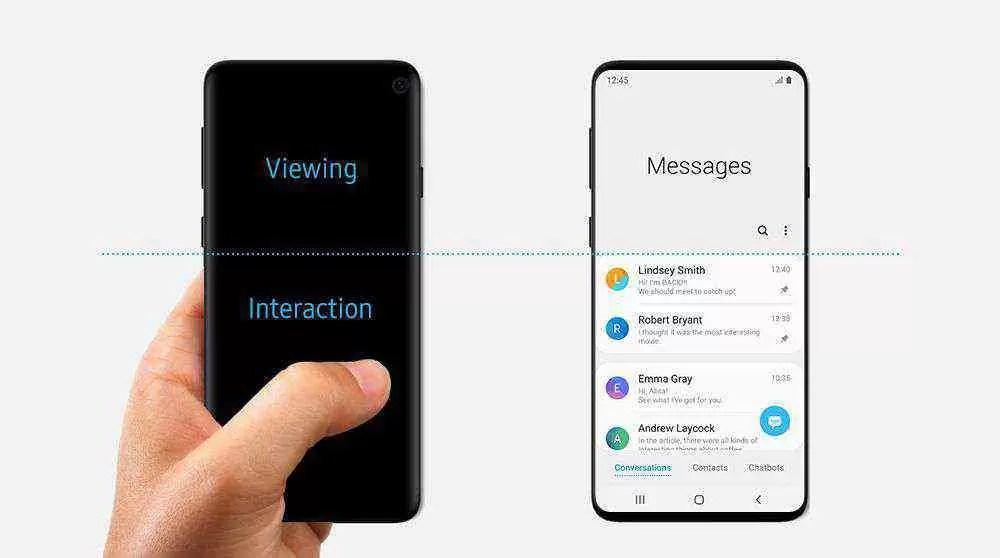 Samsung pode ter revelado o design do Galaxy S10 1
