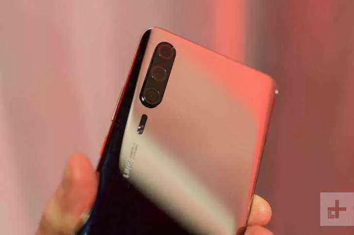 Teste de benchmark Huawei P30 Pro 1