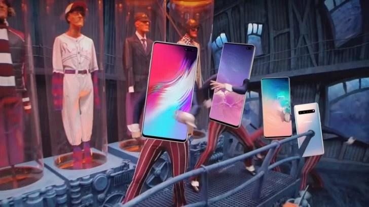 Papéis de parede oficiais Galaxy S10 da Samsung tentam esconder o entalhe 1