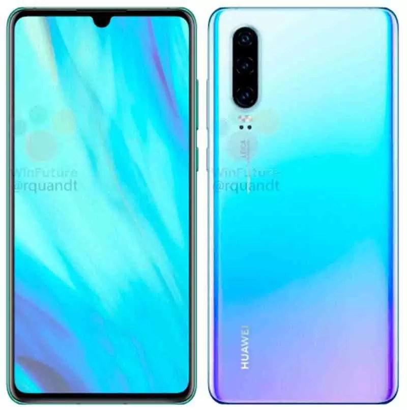 O Huawei P30 e P30 Pro aparecem em imagens oficiais 5