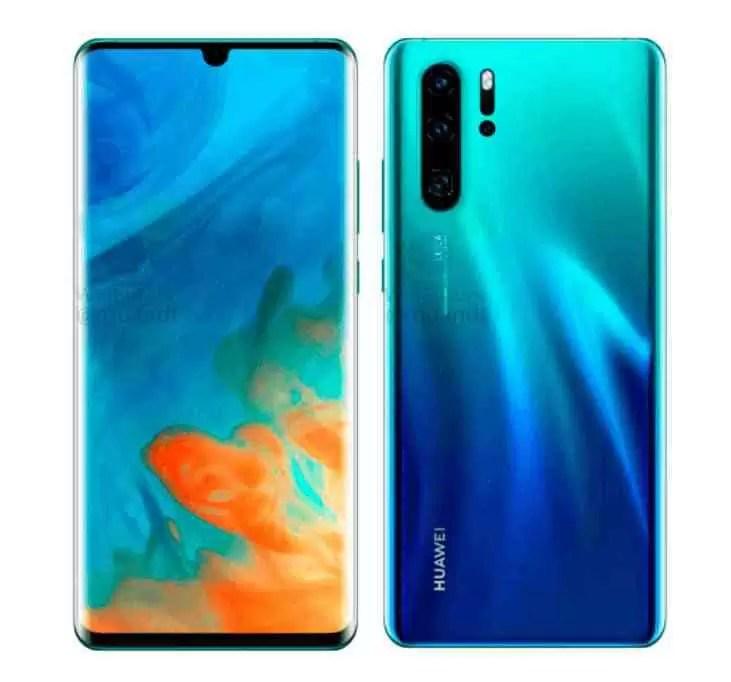 O Huawei P30 e P30 Pro aparecem em imagens oficiais 3