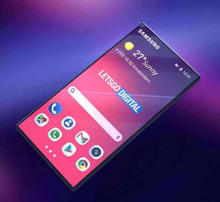 smartphone dobrável Samsung Galaxy F