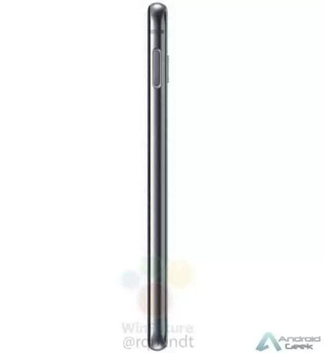 Fotos reais do Galaxy S10e mostram o seu display Infinity-O 13