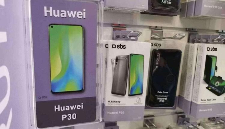 CEO da Huawei visto com o Huawei P30 Pro 15