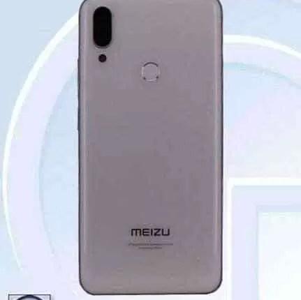 Meizu Note 9 revelado em fotos na TENAA 4