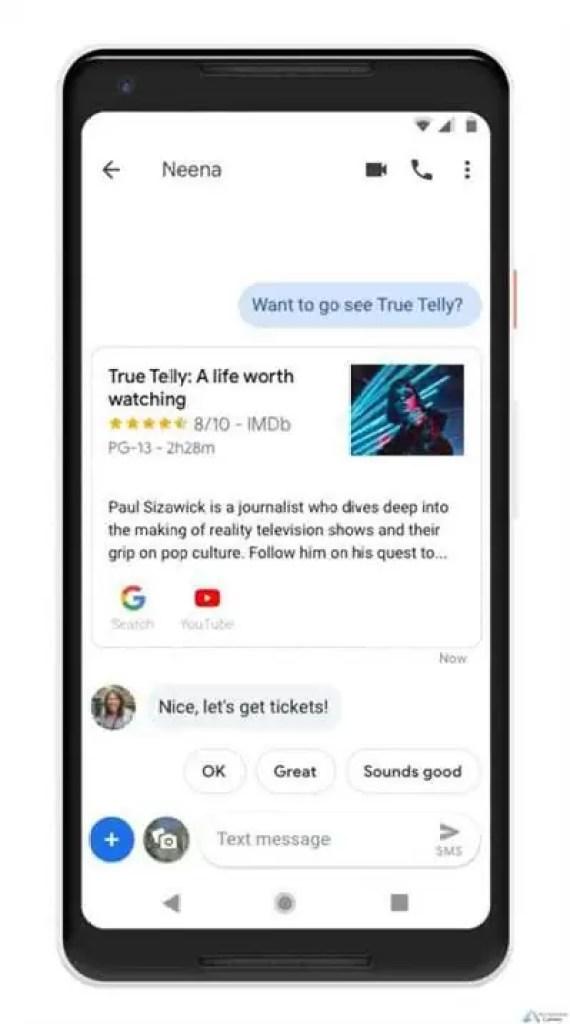 O Assistente Google está a chegar às Mensagens do Android 2