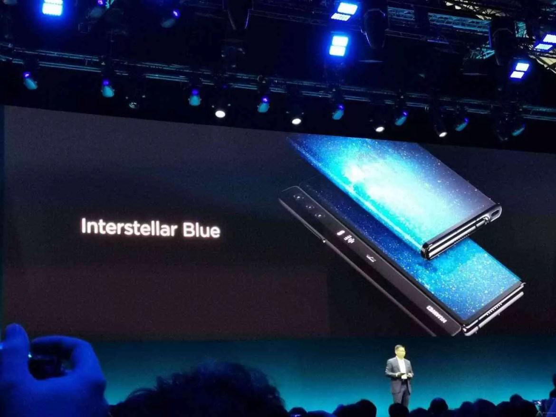 Primeiro olhar Huawei Mate X: Três modos de ecrã, quatro Câmaras, 5G 2