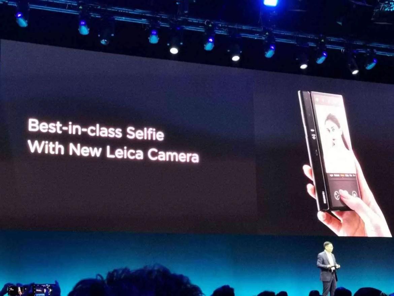 Primeiro olhar Huawei Mate X: Três modos de ecrã, quatro Câmaras, 5G 3