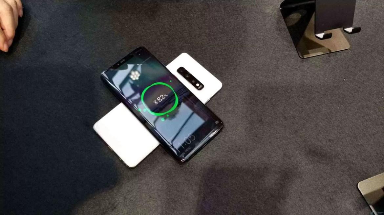 PowerShare sem fio Galaxy S10 requer pelo menos 30% de capacidade da bateria 1