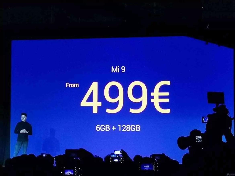 Xiaomi apresenta oficialmente o Xiaomi Mi 9 no MWC 2019 8