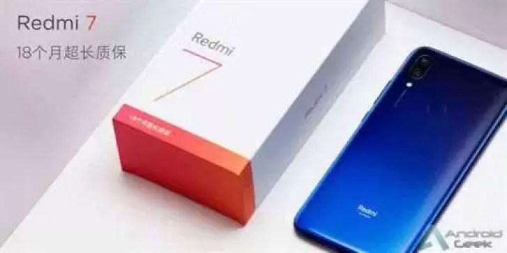 A bateria de 4000mAh do Redmi 7 oferece até meio mês em standby 1