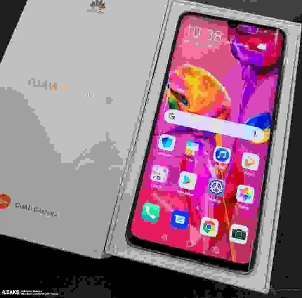 Caixa de venda Huawei P30 Pro confirma alguns detalhes 1