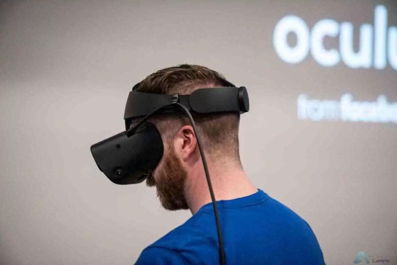 Fone de ouvido Oculus Rift S anunciado com ecrã OLED de alta resolução 1