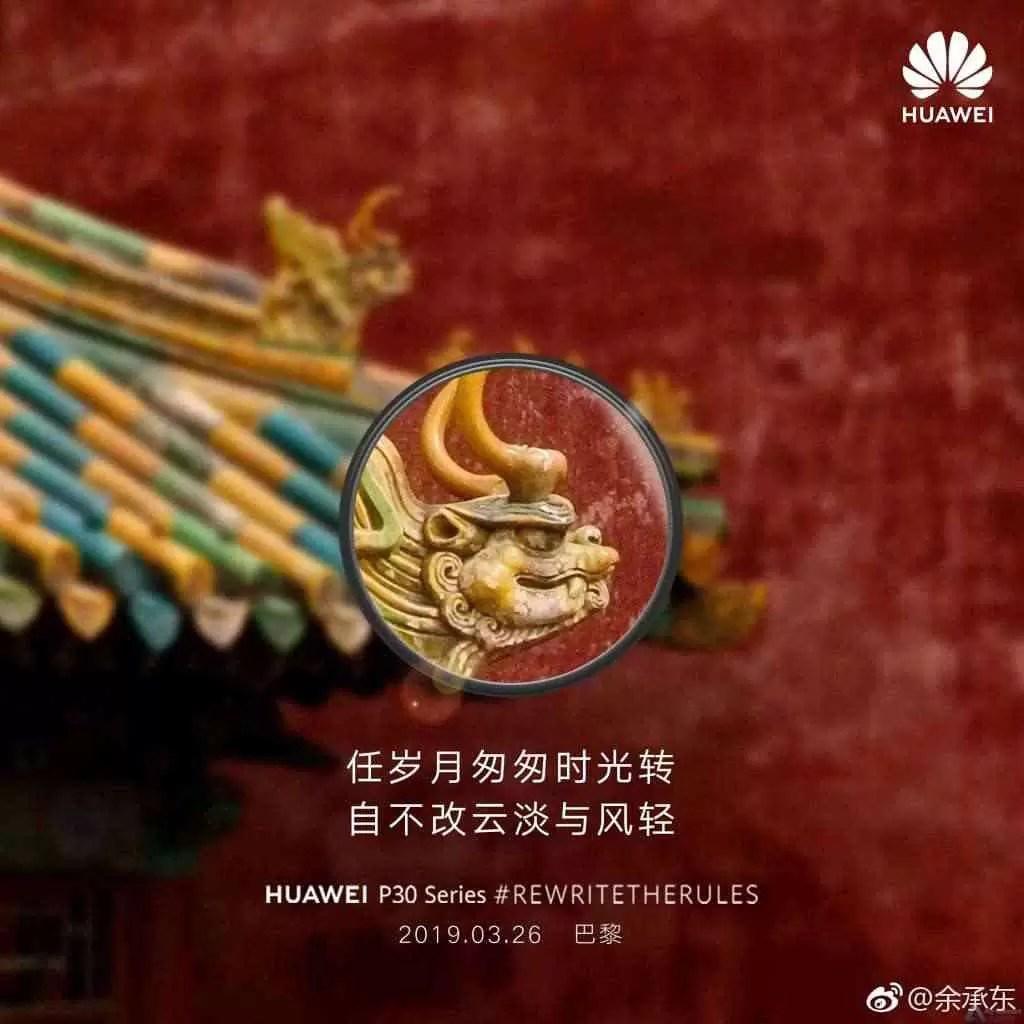 """Huawei brinca com os recursos """"Super Zoom"""" do Huawei P30 5"""