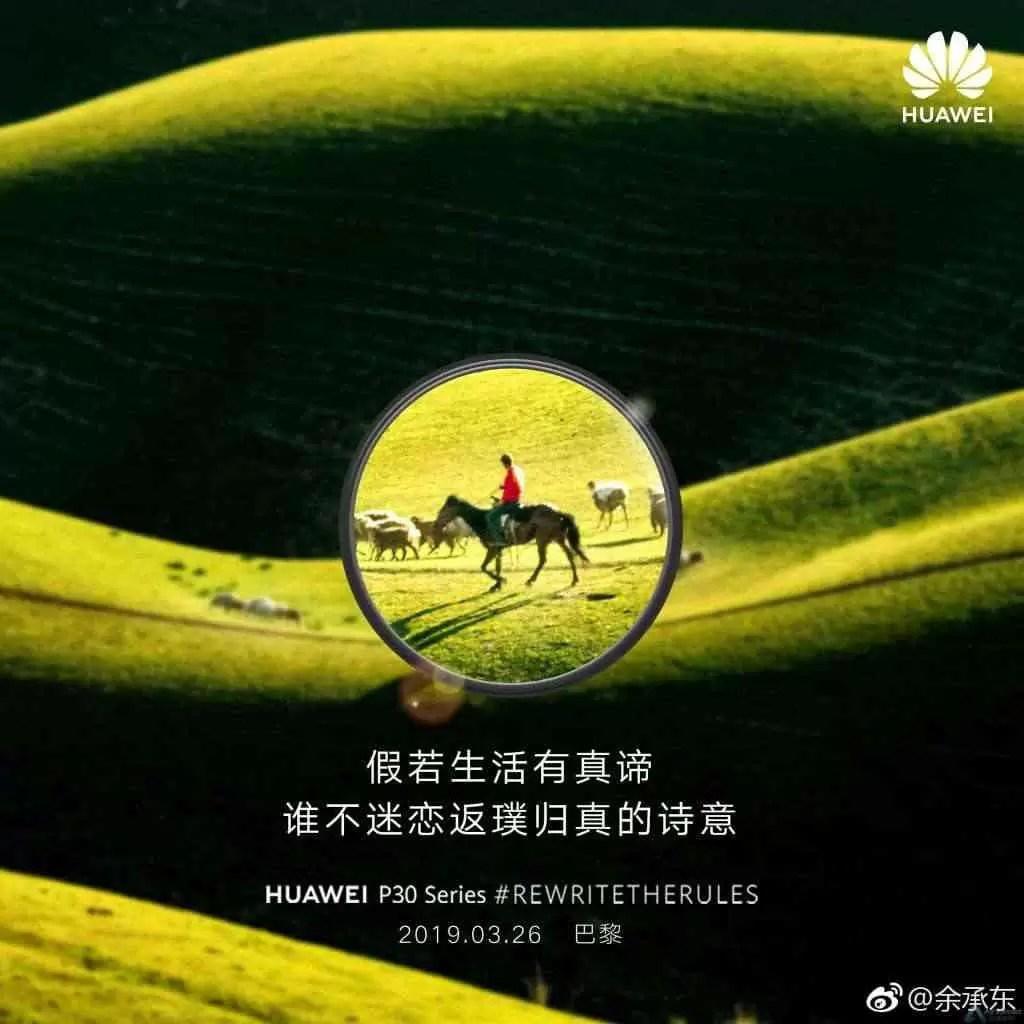 """Huawei brinca com os recursos """"Super Zoom"""" do Huawei P30 6"""