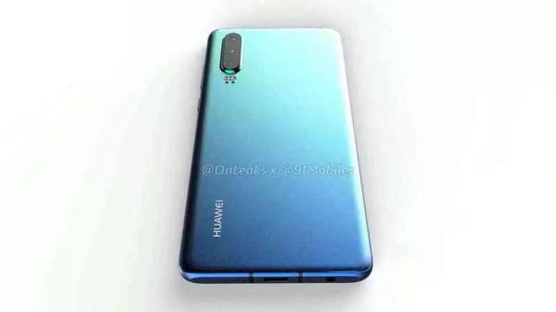 O Huawei P30 Pro é mostrado em outro vídeo prático 5