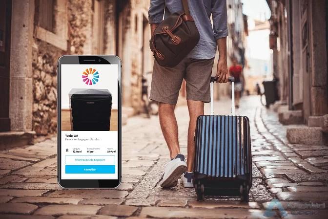Faz aqui Download da nova ferramenta da momondo para medir bagagem de mão através de Realidade Aumentada 1