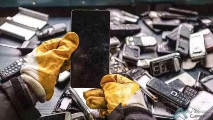 Na China, a percentagem de reciclagem de smartphones não chega a 2% 1