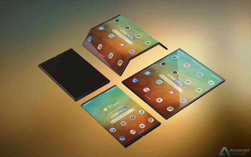 O telefone dobrável Xiaomi está a caminho, patente da Visionox aparece on-line 1