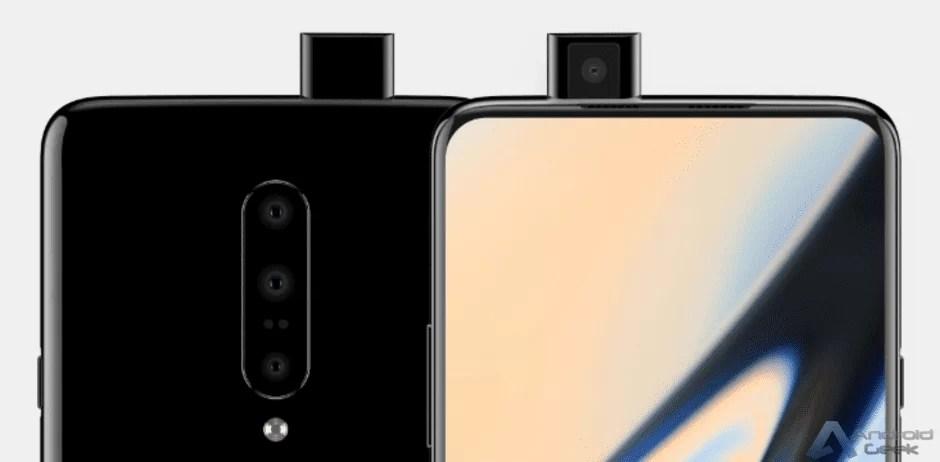 OnePlus 7 tem design revelado , câmara pop-out incluída 1