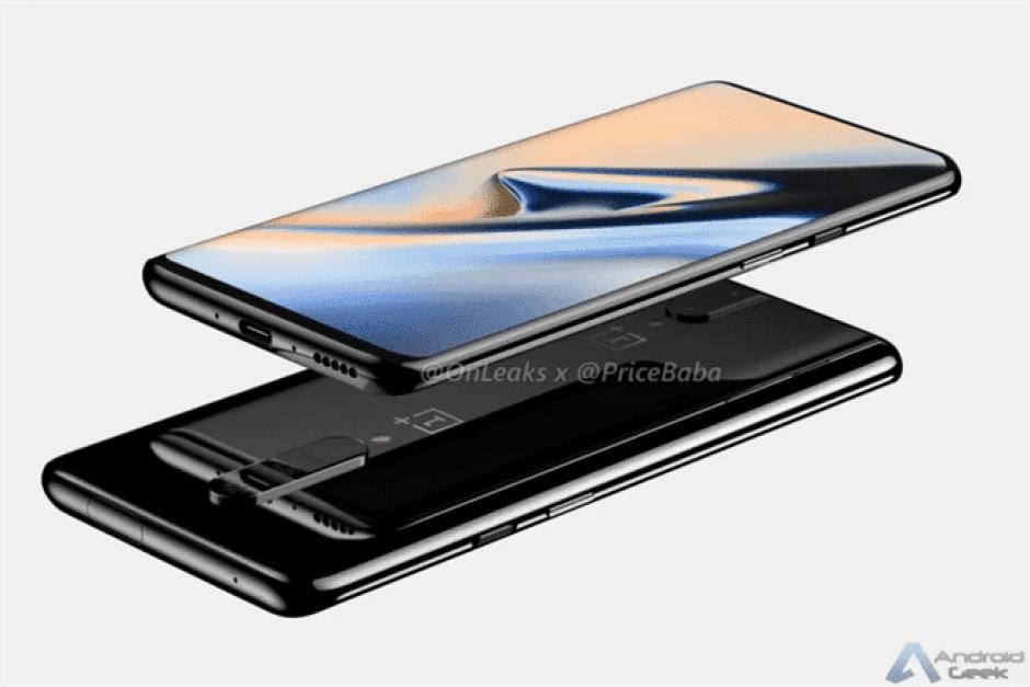 OnePlus 7 tem design revelado , câmara pop-out incluída 3