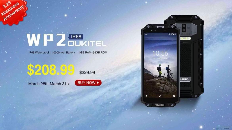 OUKITEL surpreende com grandes ofertas para o 7º aniversário da Aliexpress, smartphones desde US $ 57,99 1