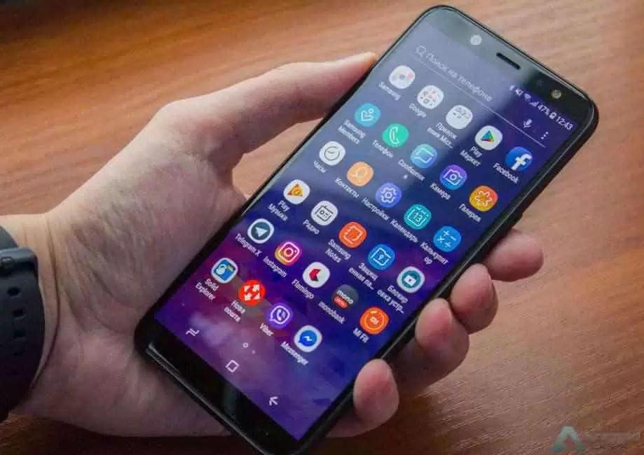 Samsung atualiza o Galaxy A6 2018 para Android 9 Pie e One UI 1