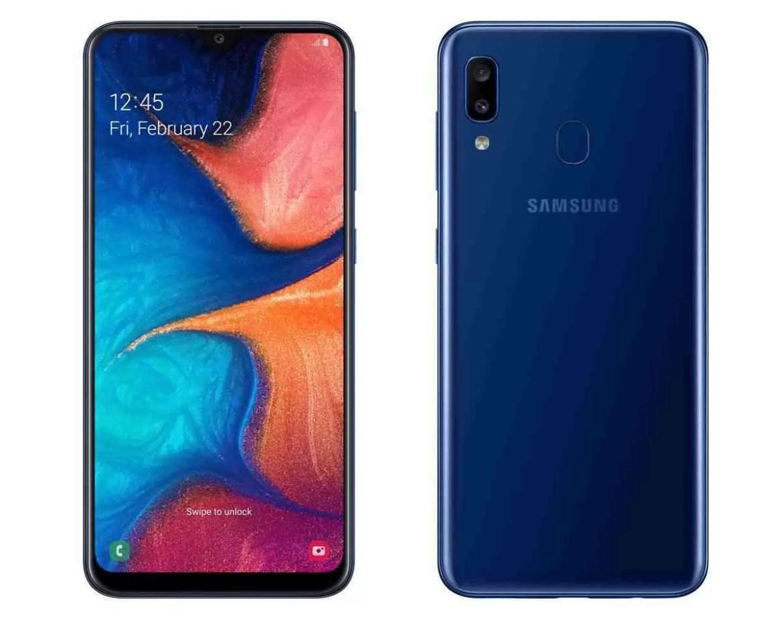 Samsung Galaxy A20, para a conquista de 200 euros móveis