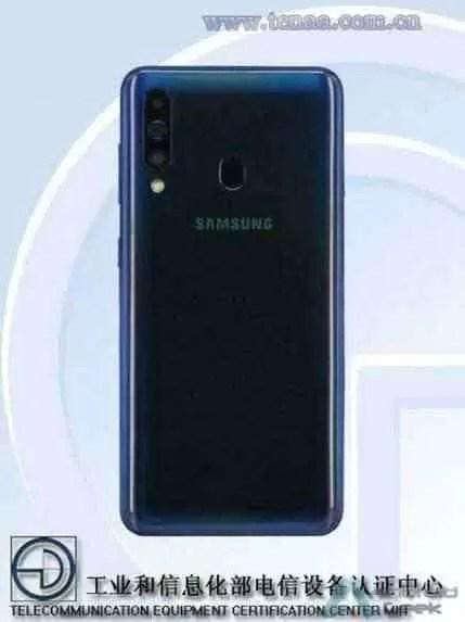 Samsung Galaxy A70 e A60 vistos em imagens e especificações em certificação 2