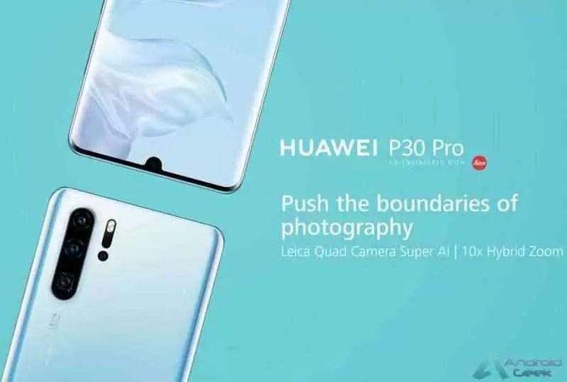 O Huawei P30 Pro é mostrado em outro vídeo prático 4