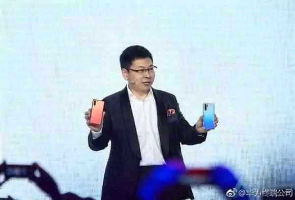 Zhu Ping CEO da Huawei