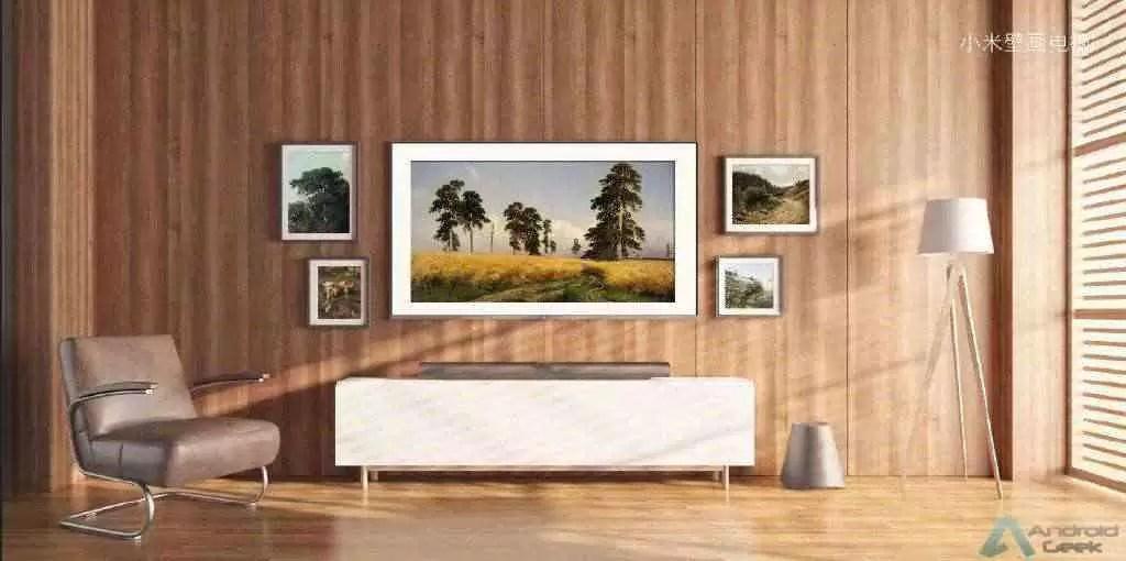 Xiaomi lança Mi Mural TV com design Wallpaper de 65 polegadas 1