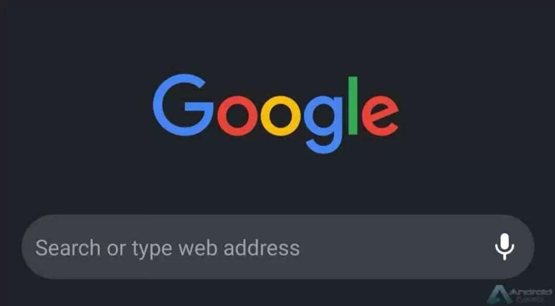 Como ativar o novo modo escuro do Chrome no Android 1
