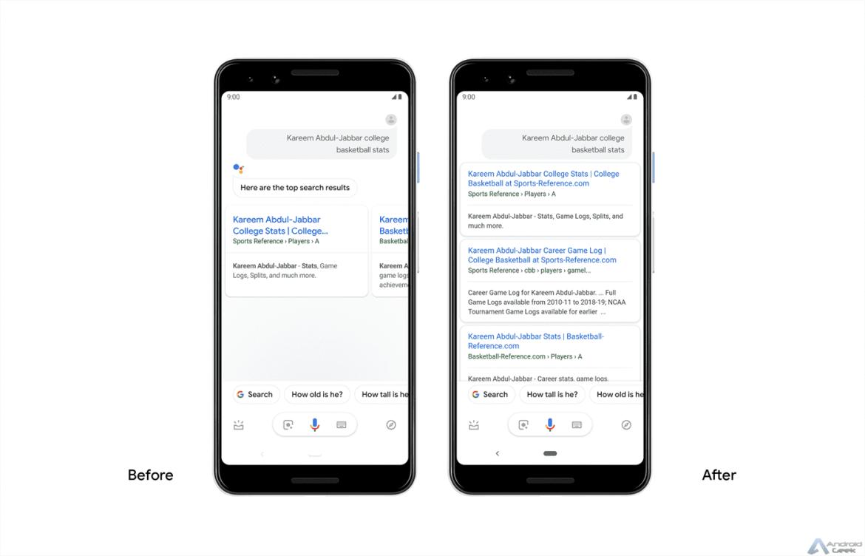 Google Assistant é enriquecido com respostas mais articuladas 3