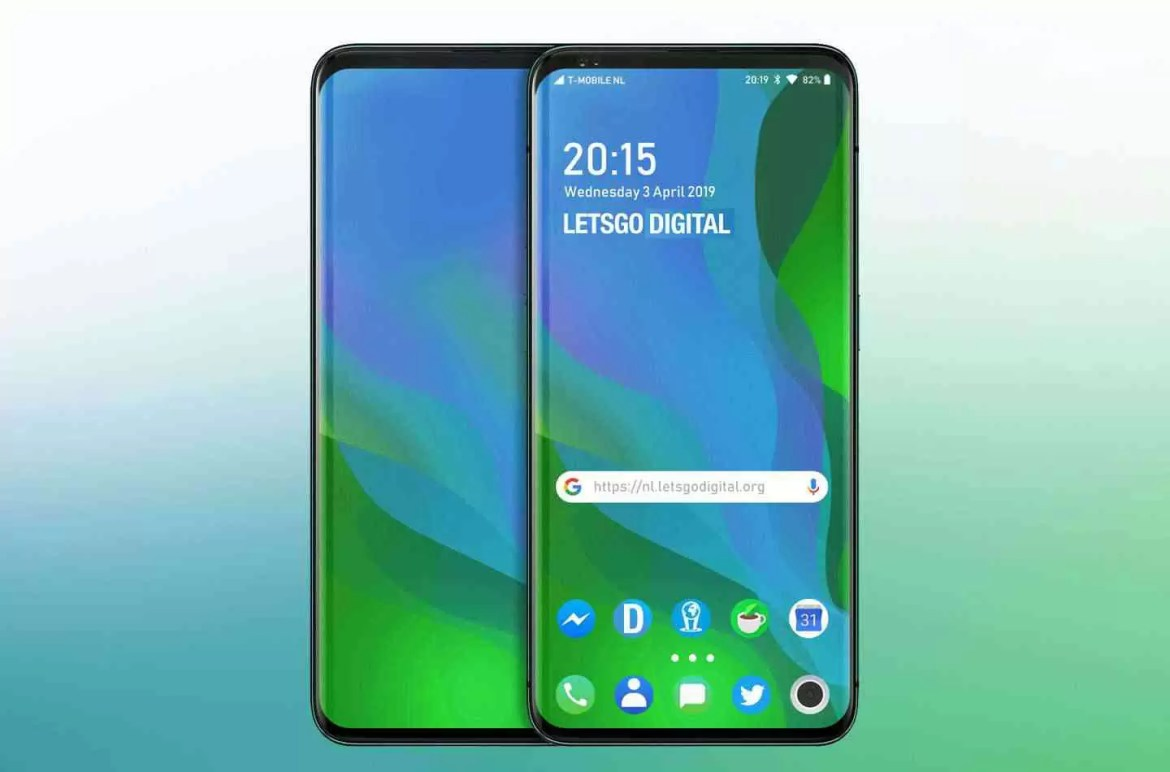 Oppo Slider Display