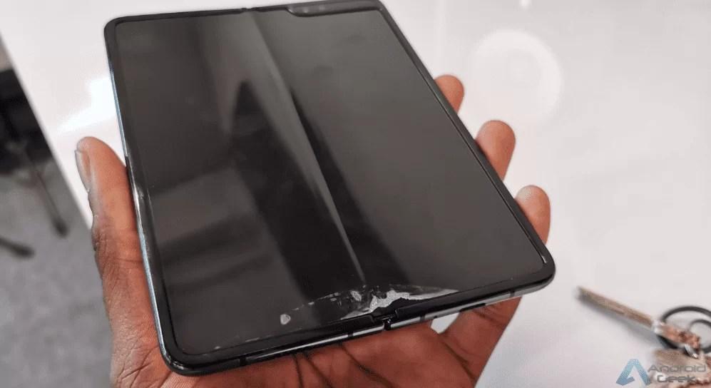 Samsung Galaxy fold permanece incerto - problema não resolvido 2