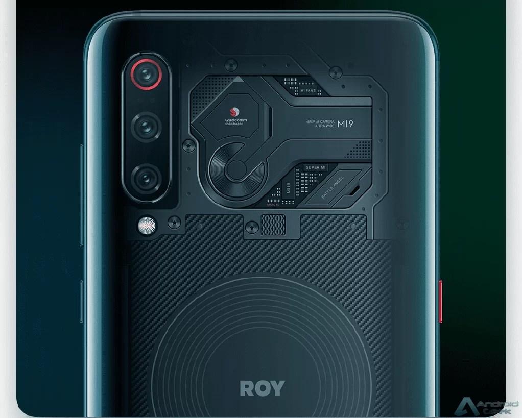 Xiaomi Mi 9 aparece com traseira transparente e tema personalizado 1