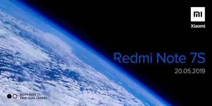 Redmi irá anunciar o Note 7S com 48MP na segunda-feira 1
