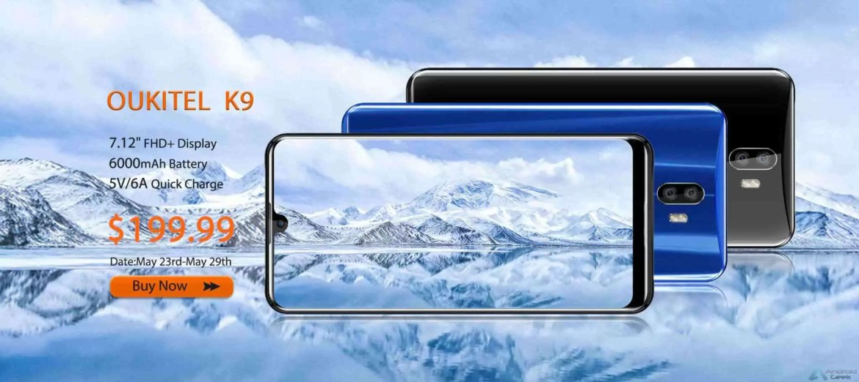 5 razões para comprar o OUKITEL K9: acessível e durável por apenas 199$ em venda Flash 5