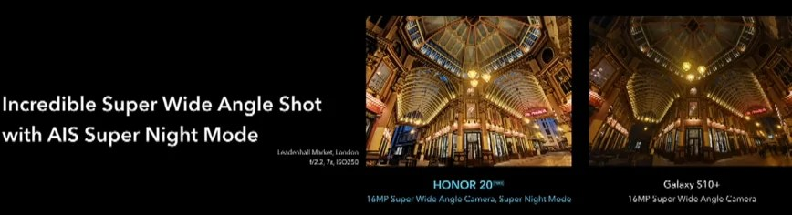 Honor 20 Pro e Honor 20 oficiais com foco na fotografia, começam com preços de € 499 e € 599 7