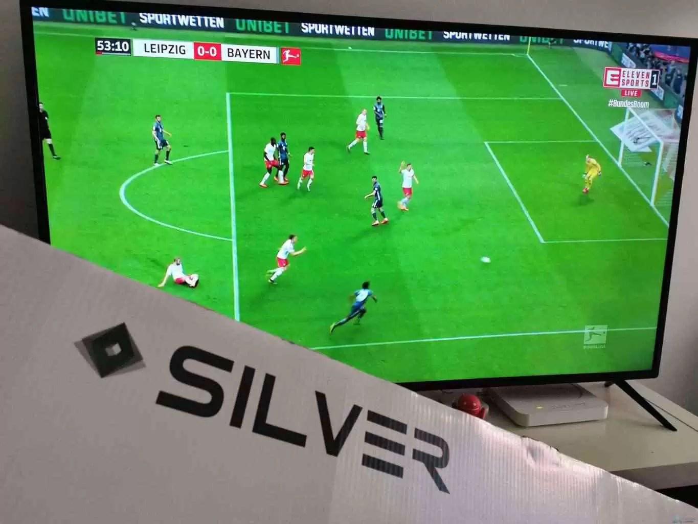 "Análise: TV Silver LE-55Z1 SmartTV 55"" LED 4K UHD 14"