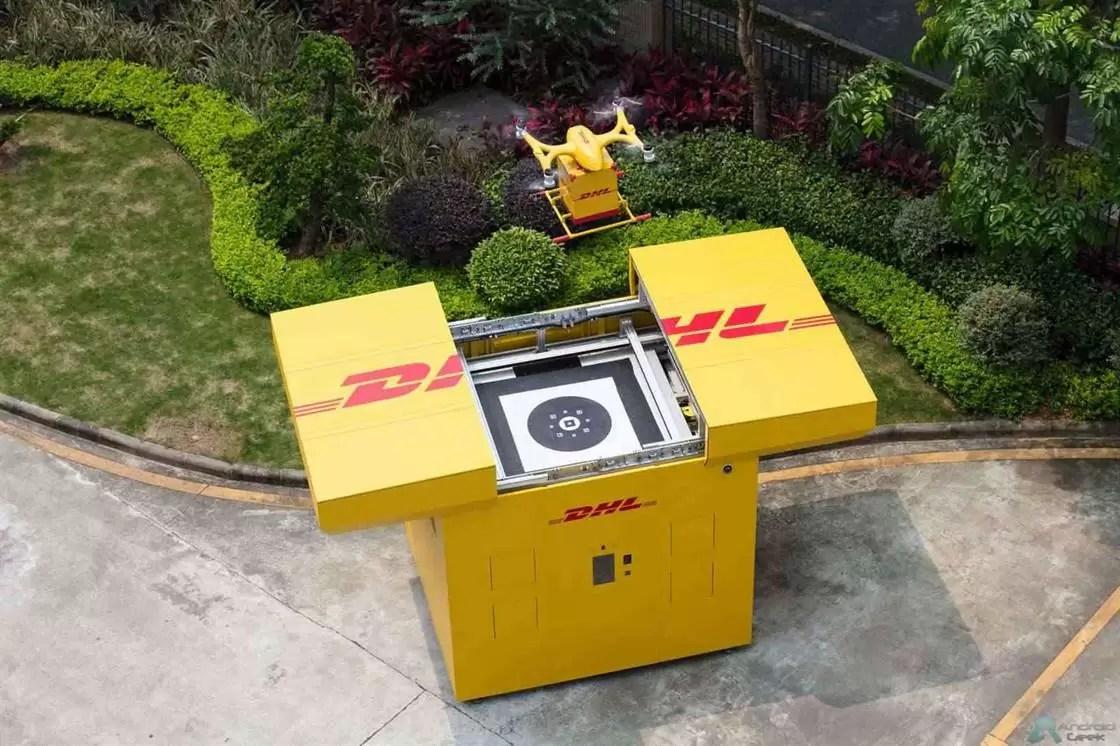 DHL Express inicia serviço de entrega com drones 2