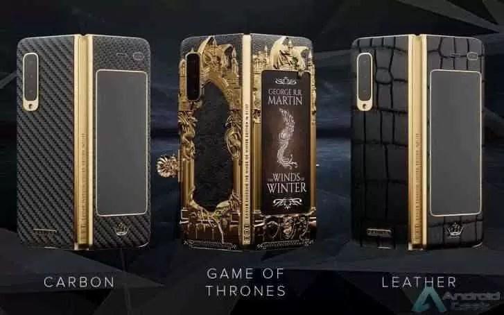 Edição de Game of Thrones do Samsung Galaxy Fold