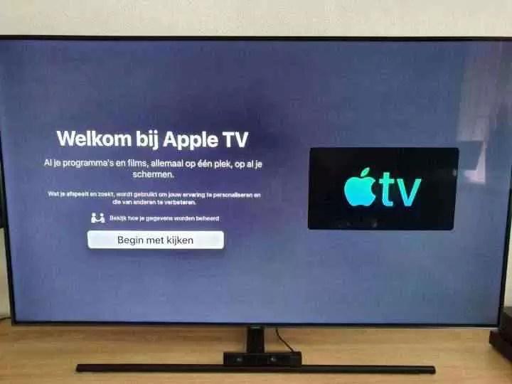 Nova aplicação da Apple TV lançada para as Smart TVs da Samsung 1