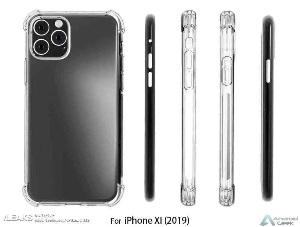 iPhone XI vai ter uma corcunda tão grande que podia ser o telefone oficial de Notre Dame 3