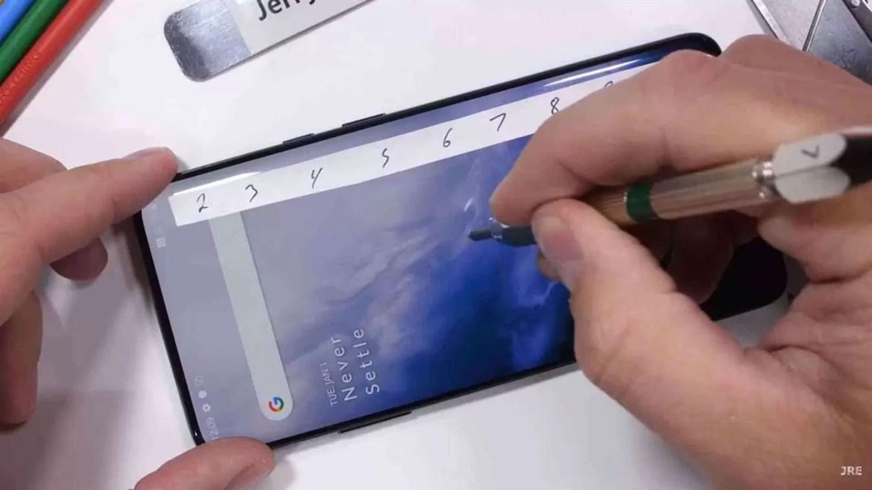 Teste de Durabilidade OnePlus 7 Pro