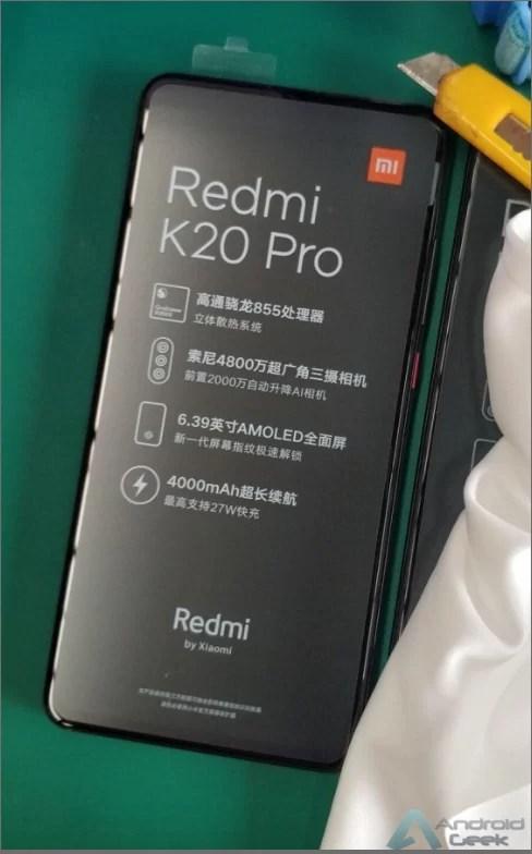 Redmi K20 aparece no Geekbench, e Redmi K20 Pro deslumbra em fotos reais 1