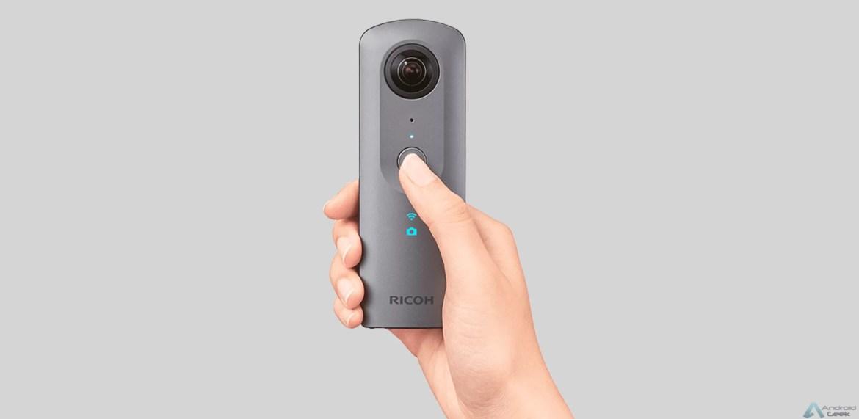 Análise Theta V a câmara 360 que podem levar para qualquer lado 2