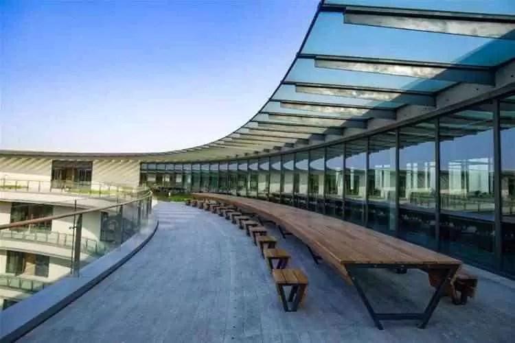O parque industrial e nova sede da Vivo na china, está concluído 12
