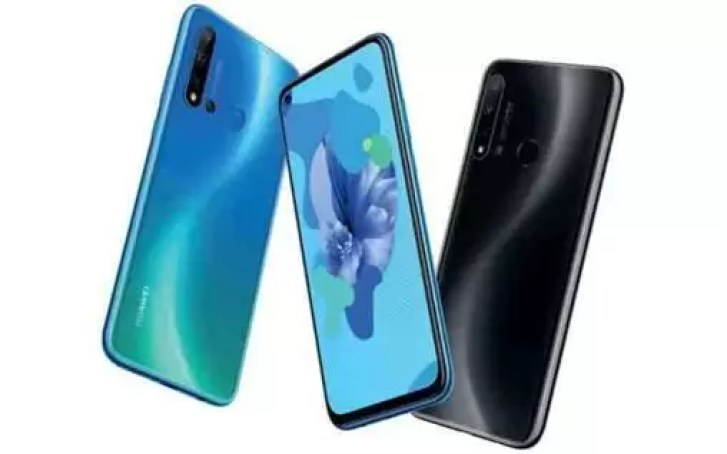 Huawei nova 5i fotos na TENAA confirmam quatro câmaras 3